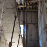 Внутренняя лестница звонницы