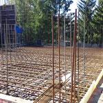 Монтаж опалубки для заливки перекрытия 2-го этажа звонницы