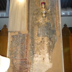фрагмент древней фрески в храме Св.вмч.Димитрия Солунского