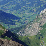 Blick vom Oldenhorn auf Gsteig (J. Hauswirth)