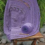 Mandala Decke, Farbe: Viola