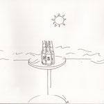 ナツ、ビール
