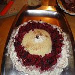 Dessert im Skilager Sedrun