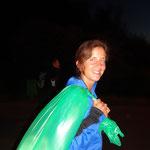 Ich bin der Samichlous - Tabea ready für den Inferno Triathlon