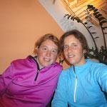 1. Tag geschafft - in Savognin mit Daniela Zenger