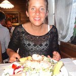 Nachtessen in Schangnau - dieses Mal mit grosser Begeisterung:-)