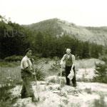 Erster Spatenstich im Jonastal im August 1958 - Stadt- und Kreisarchiv Arnstadt, Bild und Foto Archiv