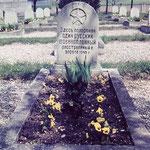 Einzelgrab um 1967 - Stadt- und Kreisarchiv Arnstadt - Sammlung Bohnhardt