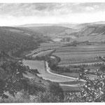 1930 Blick auf das Jonastal, privates Archiv Klaus-Peter Schambach