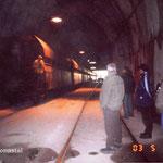 Ebensee 2003, noch heute werden die Stollen genutzt, Foto: K.-P. Schambach
