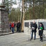 4. April 2015 - Gedenkveranstaltung, Foto: Klaus-Peter Schambach