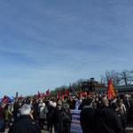 12. April 2015, Gedenkveranstaltung Buchenwald, Foto: Klaus-Peter Schambach