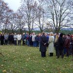 Gedenkveranstaltung am 7. Oktober 2010 - privates Archiv
