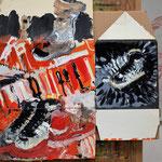 Schoenen 2  acryl op karton 2018
