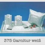375 Garnitur weiß - 709 -715/3