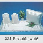 221 Garnitur Eisseide weiß - 627 Damentalar - 727 Herrentalar