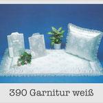 390 Garnitur weiß - 599 Damentalar - 799 Herrentalar