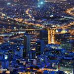Kapstadt Nachtaufnahme