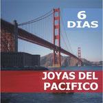 Pasando por  San Francisco, Monterey, Carmel, Santa Maria, Los Angeles