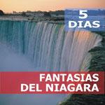 Pasando por  New York, Niagara Falls, Washington, Philadelphia