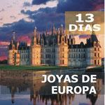 Pasando por  Madrid, Toledo, Burdeos, Valle Del Loira, Orleans, Calais, Dover, Londres