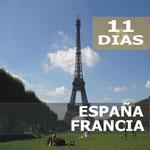 Pasando por  Madrid, Burdeos, Valle Del Loira, Paris, Limoges, Lourdes, Zaragoza