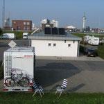 """Womo-Stellplatz """"Doppelschleuse"""" Bremerhaven (HB)"""