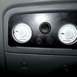 Druckanzeige im Fahrerhaus.