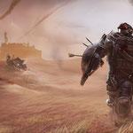 """Beugen sich keinem Gesetz und leben in staubigen Wüsten-Forts: die """"Fallout""""-inspirierten """"Outlaws""""."""