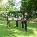 Saxophonquartett - Foto CAGrundei
