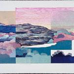 Aussi longtemps que..., 1989, bois gravé, 57 X 77 cm