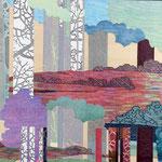 Contrepoint E, 2013, estampe et mousse, 30,5 X 30,5 X 4,2 cm