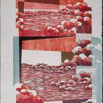 À la brunante, 1995, bois gravé, gaufrure, 81 X 61 cm