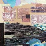 Contrepoint C, 2013 estampe et mousse, 30,5 X 30,5 X 3 cm