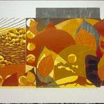 Lumière d'Orient, 1998, bois gravé, 61 X 81 cm