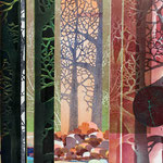Contrepoint U, 2013, estampe et mousse, 40,5 X 30,5 X 4,2 cm
