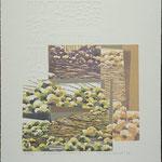À l'aube de l'automne II, 1992, bois gravé, gaufrure, 51 X 43 cm