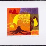 Prélude, 1998, bois gravé, 27 X 19 cm