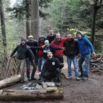 Grüsse an Lars Konarek aus dem Schweizer Survival und Bushcraft Camp