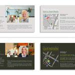 Ärztevorstellung - Flyer im jeweiligen Praxisdesign