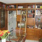 Bibliothèque merisier
