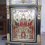 Restauration meuble marqueterie Boulle