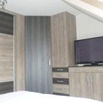 Fabrication dressing + agencement meuble sur mesure panneau mélaminé