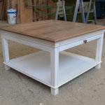 Table de salon frêne