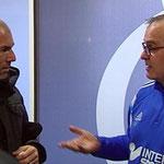 Charla de leyendas: Zidane y Bielsa.
