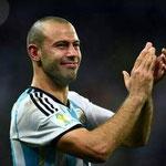 Lágrimas de un héroe nacional. Dejarse la piel por la Selección, nivel: Mascherano.