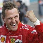 Michael Schumacher salió del coma.