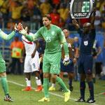 El cambio táctico de Van Gaal frente a Costa Rica.
