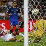 El gol de Götze que le dió el título mundial a Alemania.