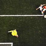 El jefecito Mascherano y su mítica jugada salvando a Argentina del gol cantado de Robben.